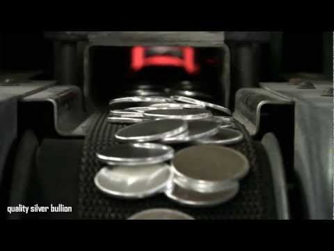 Coin Minting Process - Quality Silver Bullion