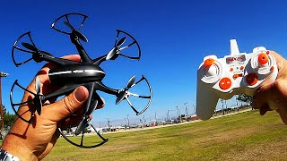MJX X800 Hexacopter Drone Review with G Sensor