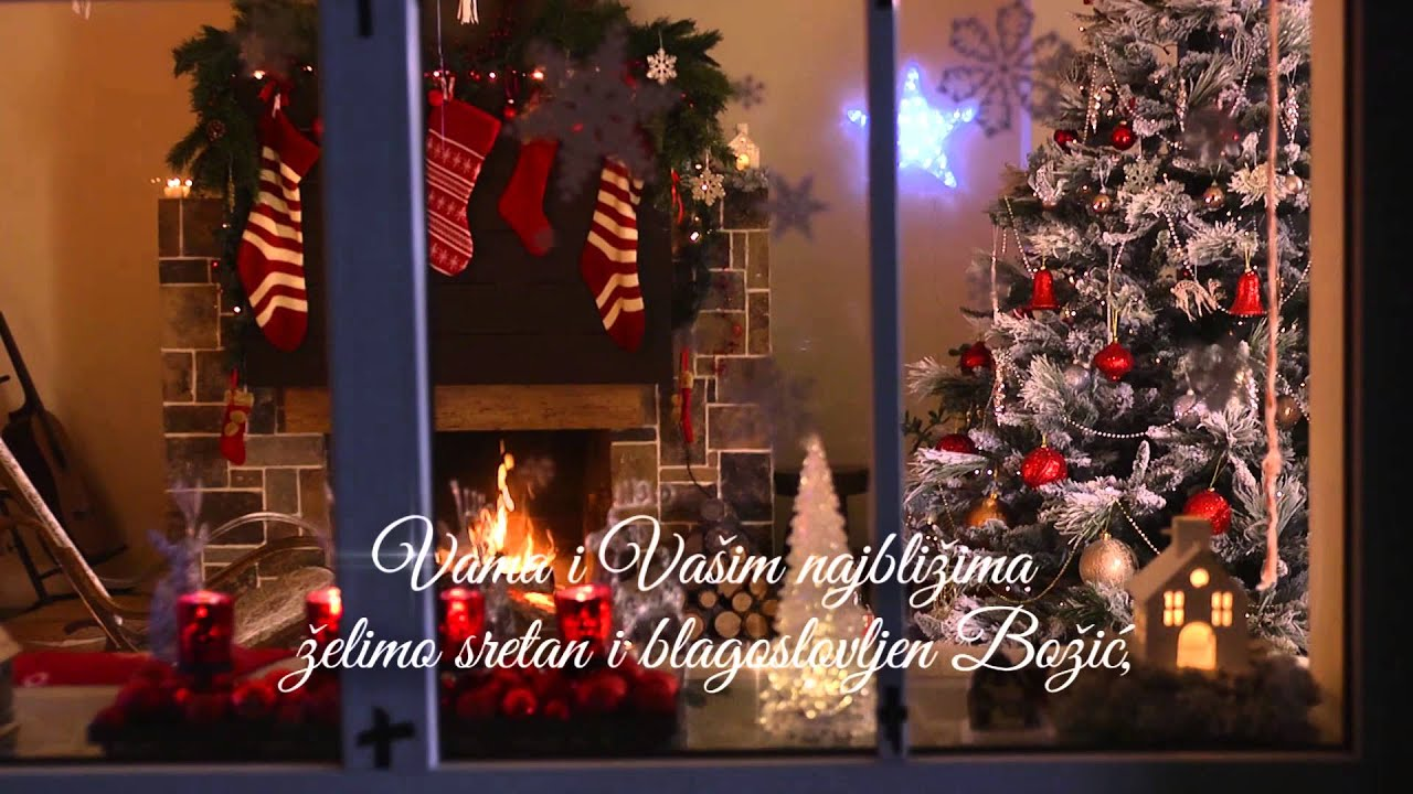 poruke za sretan bozic Sretan Božić   Crozilla Božićna čestitka (2015)   YouTube poruke za sretan bozic