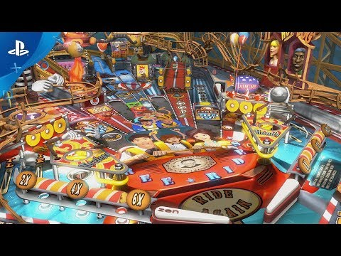 Pinball FX3 – Carnivals and Legends | PS4