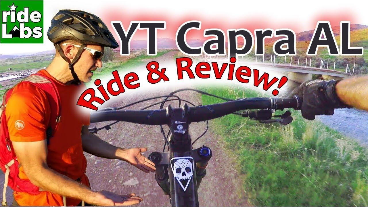 YT Capra Test Ride At High Star