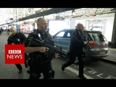Thumbnail: Oxford Circus Tube incident:'No evidence of shots fired' - BBC News