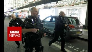 Oxford Circus Tube incident:'No evidence of shots fired'  - BBC News