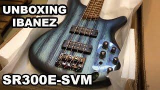 Unboxing Ibanez SR300E-SVM Soundgear