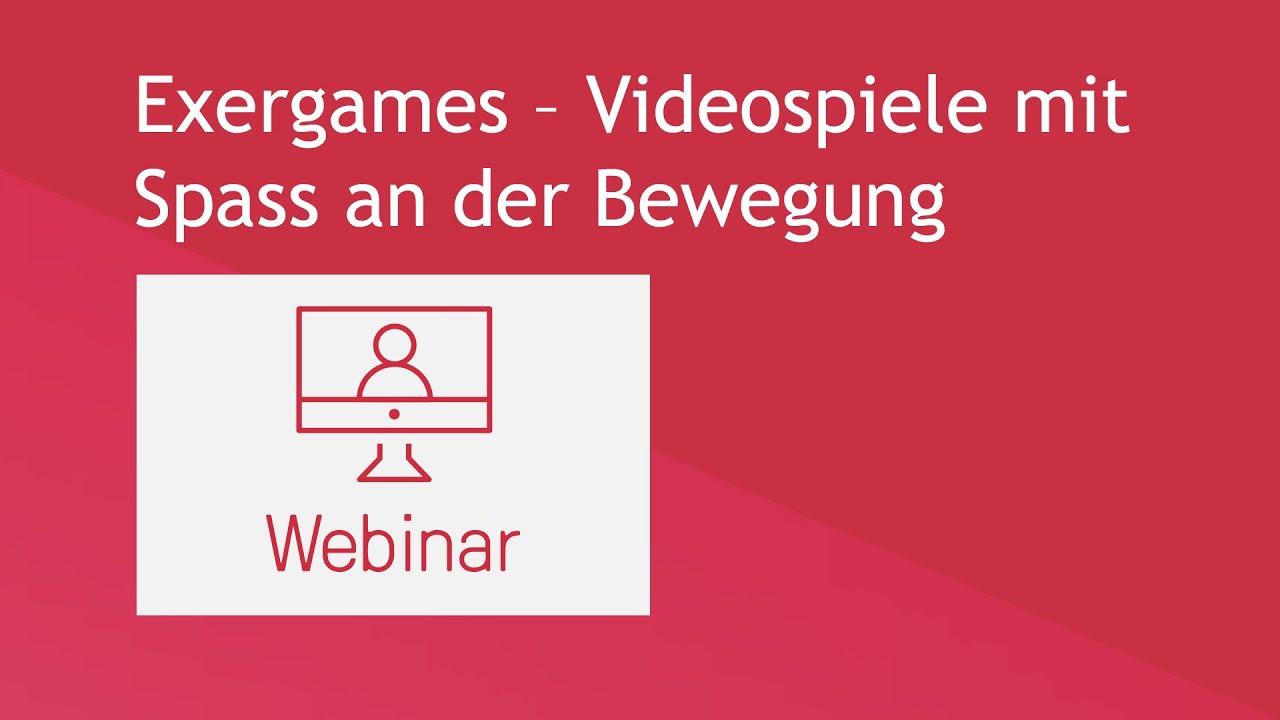Exergames – Videospiele mit Spass an der Bewegung