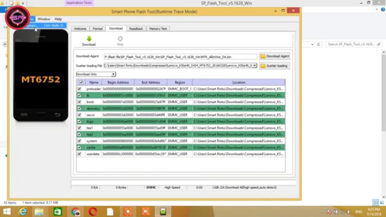 lenovo k50a40 boot tool dl image fail