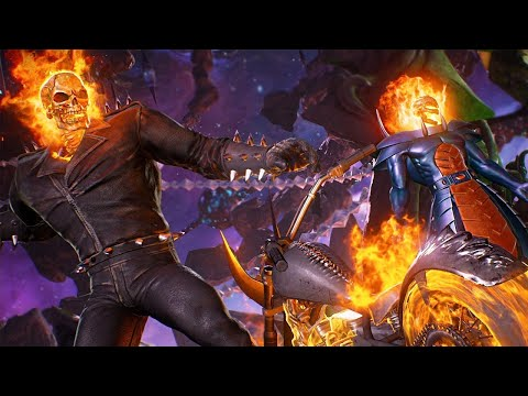 Marvel vs Capcom Infinite: New High Level Ghost Rider and Dormammu Gameplay