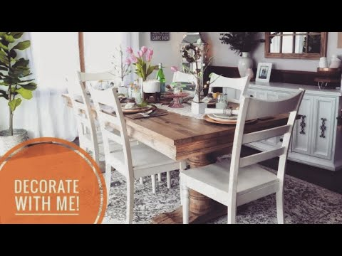 Decorate with Me | Simple Summer Home Decor | Inexpensive Decorating Tips + Ideas