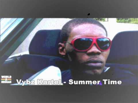 Vybz Kartel - Summer Time (HQ!!) (MAY 2011)  (with lyrics and MP3 download)
