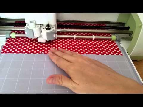 Cricut Fabric Cutting Success