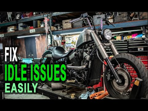 How To Fix Idle Issues - Bike wont stay in idle? EASY Diagnosis