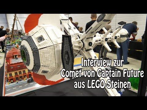 LEGO Comet Von Captain Future (Interview Zum MOC Ideas-Fan-Modell)