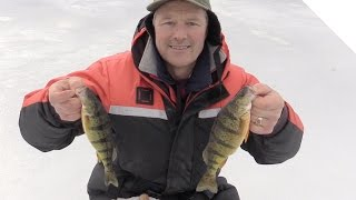 How to Ice Fish for Perch - Ice Fishing Jigging Tips and Tricks