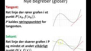 Differentialregning 1   intro