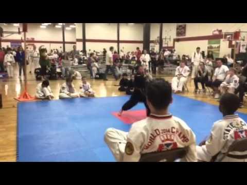 Taekwondo Kid Nathan Macias- Cancinos BBA