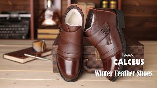 Calceus Winter Leather Shoes