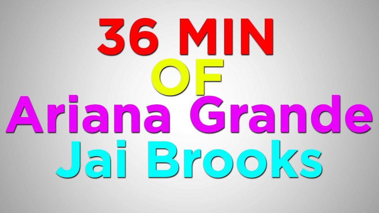 Jariana - Ariana Grande & Jai Brooks.