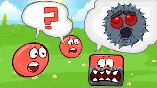 СОЕДИНИЛ ПОДЗЕМЕЛЬНОГО БОССА КВАДРАТА И КРАСНЫЙ ШАРИК ! в игре для детей про New Red Ball 4  Спуди !