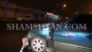 Ավտովթար Երևանում  30 ամյա վարորդը Mercedes ով դուրս է եկել երթևեկելի գոտուց և բախվել կրպակին