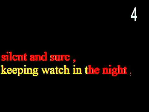 Stars  (Karaoke version with lyrics and beat counting) from 'Les Miserables'
