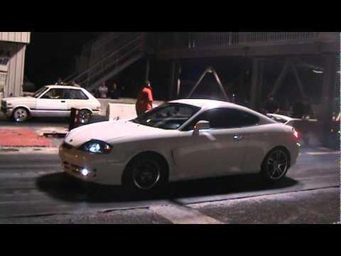 fastest i4 tiburon 12.1@120mph - YouTube
