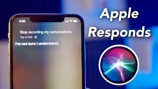 Apple Responds to Siri Privacy Scandal