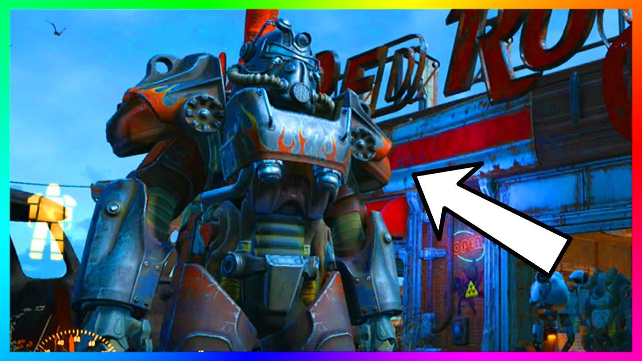 Fallout 4 Rare Quot Flames Quot Atom Cat S Power Armor Guide