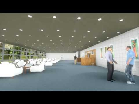 3D MODELLEME Hastane-temel Tacal-3D MODELING Hospital