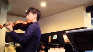 2014.8.25 ヴァイオリン : 濱島秀行 ピアノ : 内田有紀.