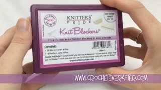Review of knit blockers blocking tools
