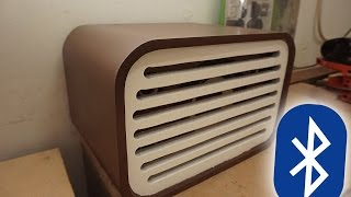 DIY classic look bluetooth speaker from old computer speaker | Pakeotac