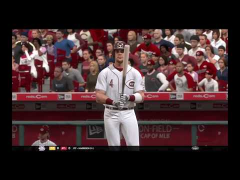 MLB the show 17 Indians at Reds
