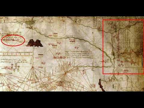 Русь и Золотая Орда на карте 1339 года