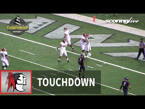 Kahuku vs. Saint Louis: K. Kaniho, 59 yard pass from S. Maiava (HHSAA D1 Open Title)