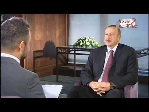 President Ilham Aliyev was interviewed by the Hungarian National Television