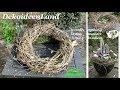 DIY: Frühlings Deko: Kranz Binden Mit Zweigen Schnell & Einfach I Krans Maken I Making A Twig Wreath