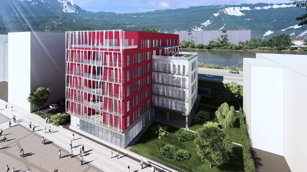 10 mois de gros oeuvre pour le chantier [Alpes City]