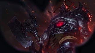 League of Legends - Jungle Sion (pre-release)