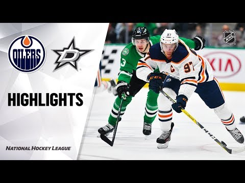 NHL Highlights   Oilers @ Stars 12/16/19