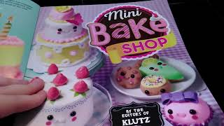 DCGirlCrafts~Klutz Mini Bake Shop Unboxing and Review