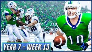 NCAA Football 14 Dynasty Year 7 - Week 13 vs Utah State | Ep.121