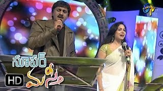 Akashamlo Okatara Song | Raghu Kunche, Sunitha Performance | Super Masti | Tenali | 2nd April 2017