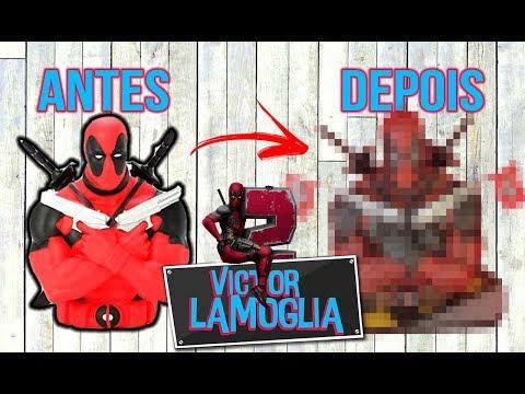 REFIZ O DEADPOOL! (TOY MAKEOVER) - Victor Lamoglia