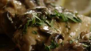 How To Make Baked Lemon Chicken With Mushroom Sauce