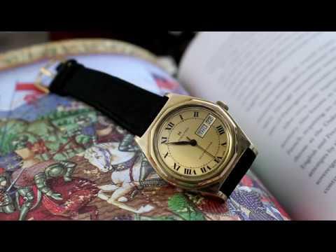 Vintage Gerald Genta Hamilton Watch Review