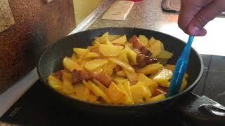 Как правильно жарить картошку | Готовим дома картошку