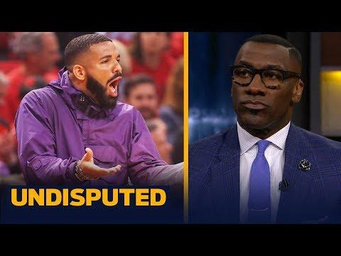Drake's antics are 'too much' during the Raptors-Bucks series — Shannon Sharpe | NBA | UNDISPUTED