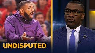 Drake's antics are 'too much' during the Raptors-Bucks series — Shannon Sharpe   NBA   UNDISPUTED