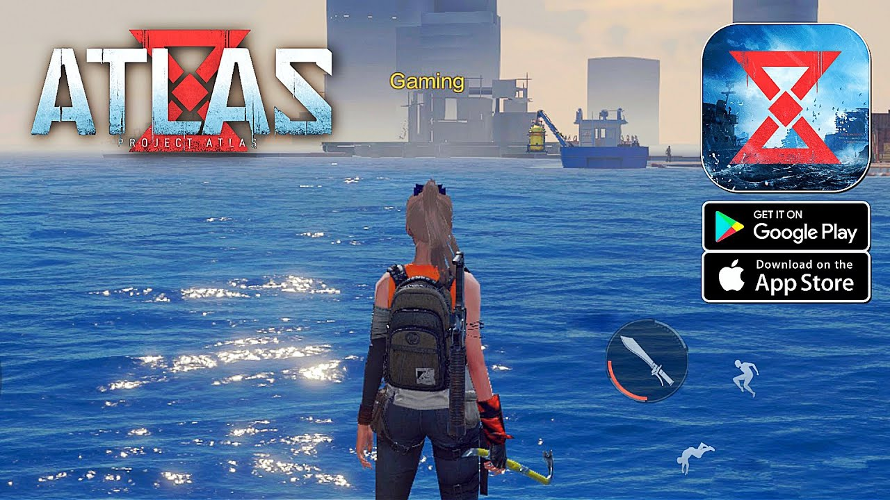 Project: ATLAS (NetEase) - Open World Survival Gameplay (Android/IOS)