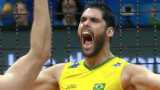 FIVB 2015 World League Finals Highlights - USA vs Brazil Men's Volleyball